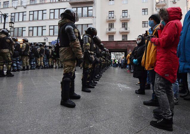 مظاهرات في موسكو