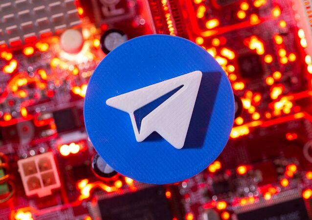 شعار تطبيق تليغرام