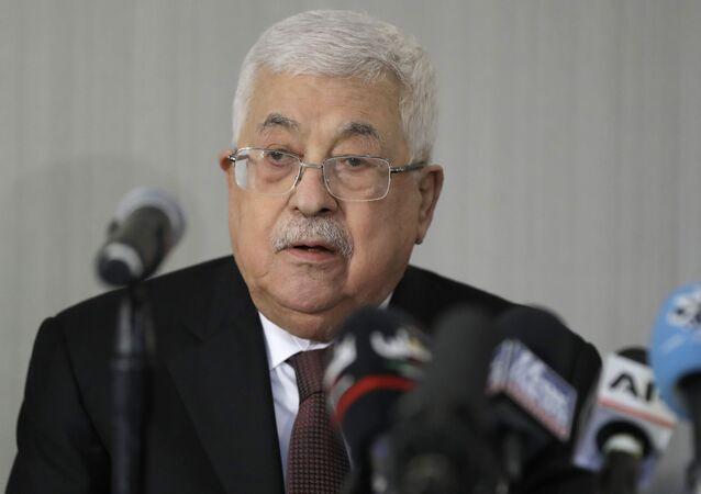 رئيس السلطة الفلسطينية محمود عباس، حركة فتح، نييورك، فبراير 2020