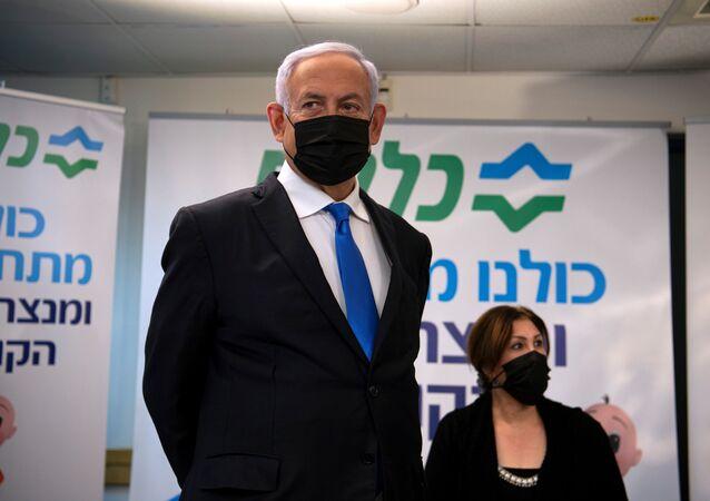 رئيس الوزراء الإسرائيلي بنيامين نتنياهو، الناصرة، إسرائيل 13 يناير 2021