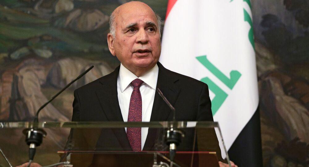 وزير الخارجية العراقي فؤاد حسين