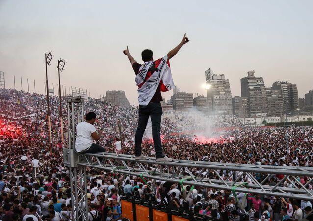 جماهير نادي الزمالك المصري