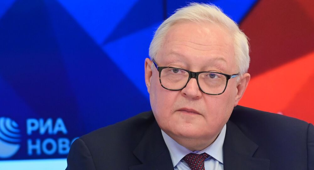 نائب وزير الخارجية الروسي سيرغي ريابكوف، موسكو، روسيا نوفمبر2020