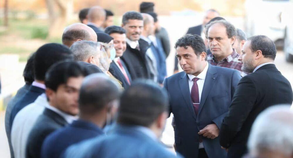 رئيس المجلس الرئاسي الليبي، محمد المنفي