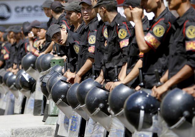 أفراد من الشرطة المصرية
