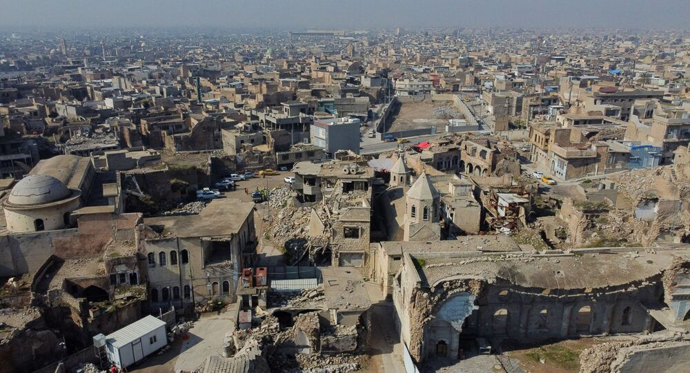 التحضيرات لزيارة بابا الفاتيكان إلى العراق، الموصل  22 فبراير 2021