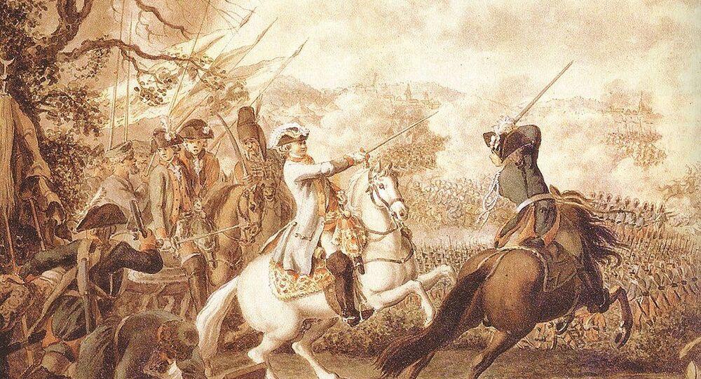 معركة كاغول 1768—1774