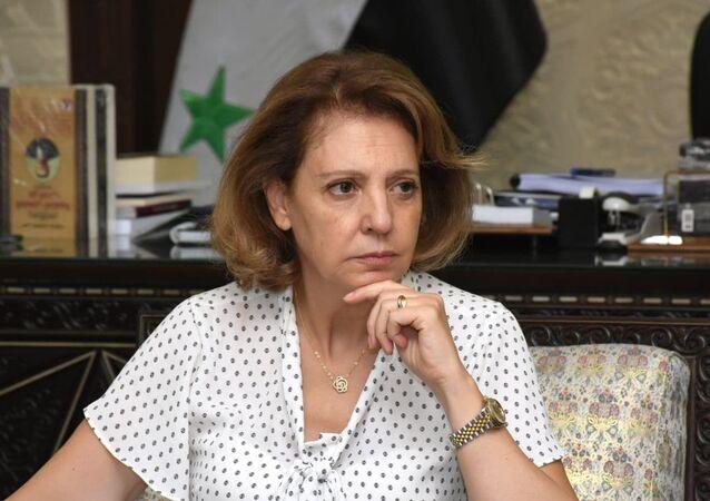 وزيرة الثقافة السورية لبانة مشوح