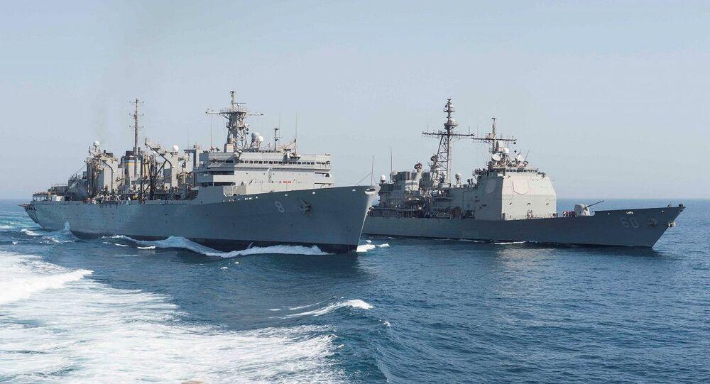 سفن حربية أمريكية