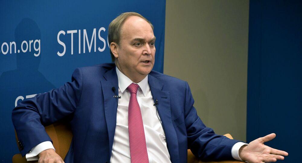 السفير الروسي لدى الولايات المتحدة أناتولي أنتونوف