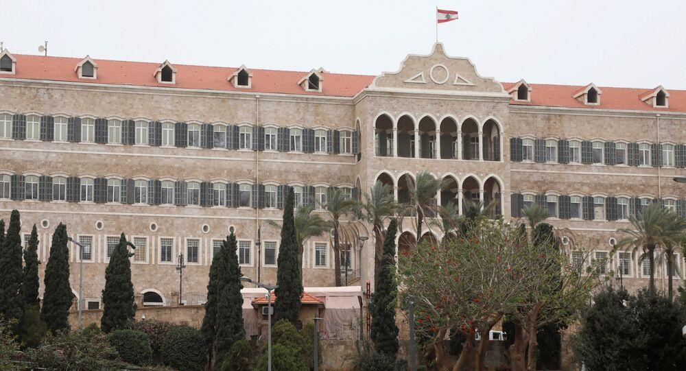 القصر الرئاسي في بيروت، لبنان 23 مارس 2021
