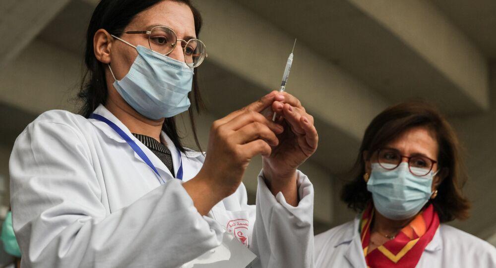 اللقاح سبوتنيك V المضاد لفيروس كورونا في تونس