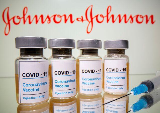 لقاح شركة جونسون آند جونسون المضاد لفيروس كورونا
