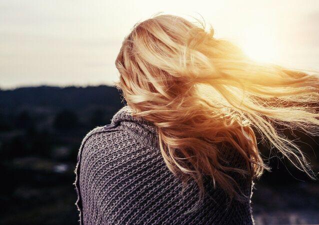 شعر امرأة