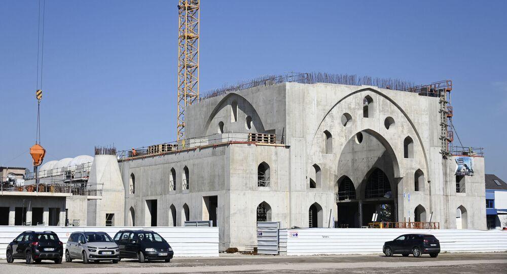 مشروع بناء مسجد أيوب سلطان في ستراسبورغ مارس 2021