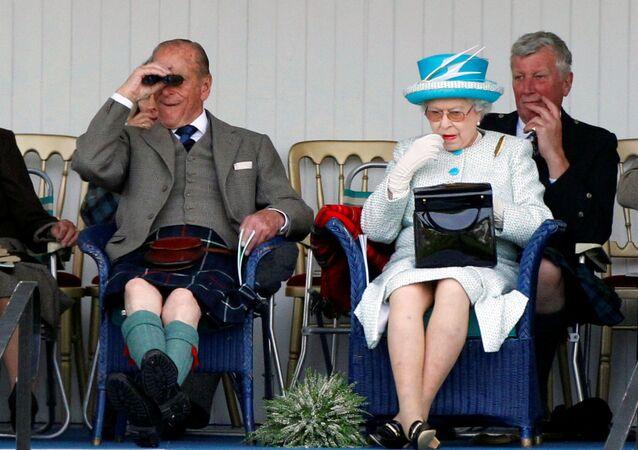 الأمير فيليب، زوج ملكة بريطانيا إليزابيث الثانية، اسكتلندا، بريطانيا 3 سبتمبر 2011