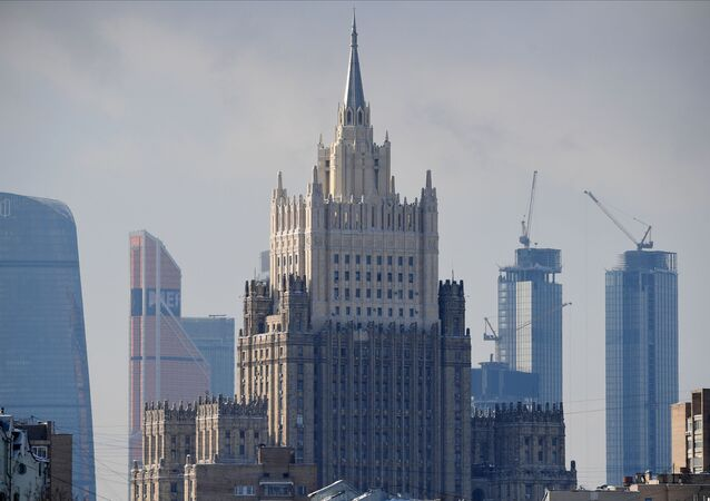 مبنى وزارة الخارجية الروسية في موسكو، روسيا
