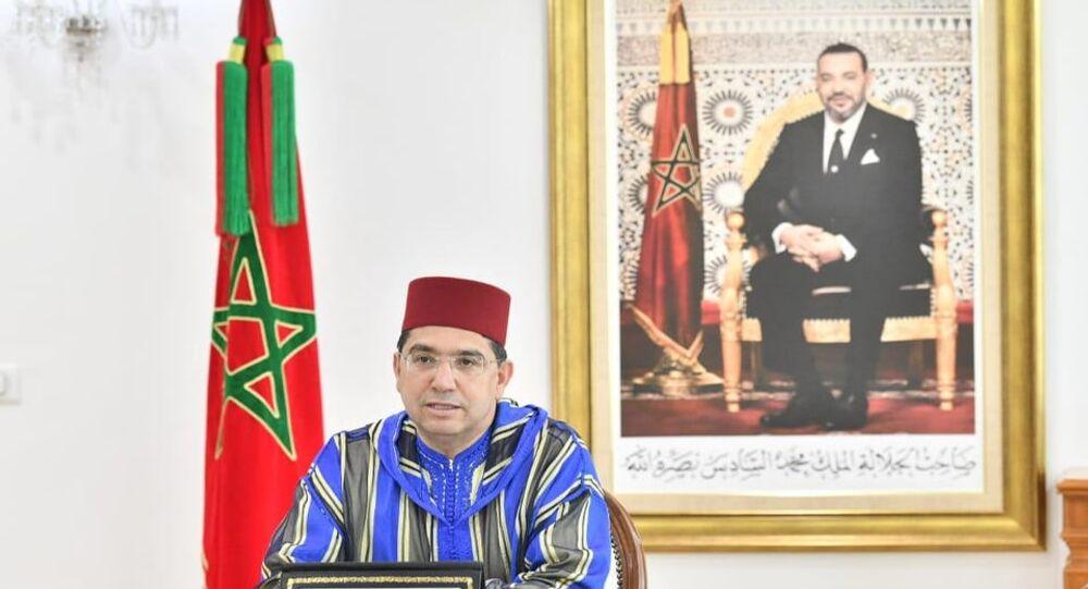 ناصر بوريطة وزير الشؤون الخارجية المغربي