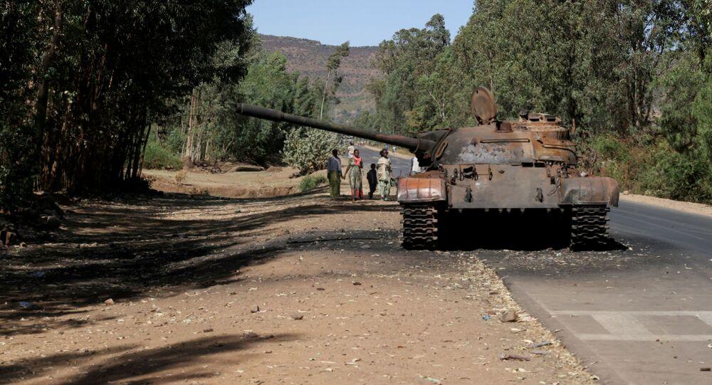 منطقة تيغراي، إثيوبيا مارس 2021