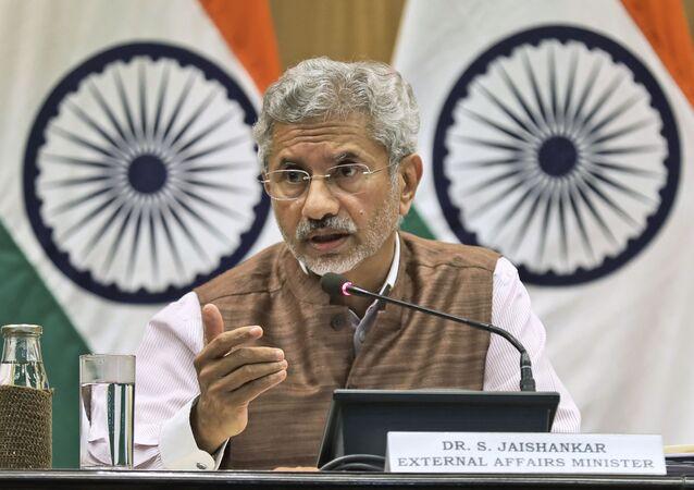 وزير الخارجية الهندي سوبرامانيام جايشانكار