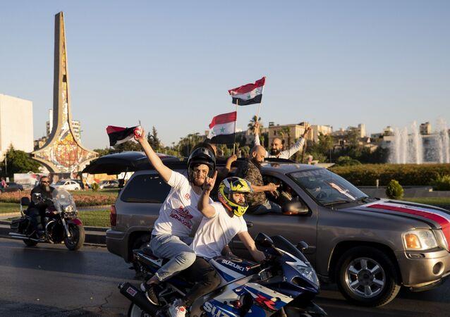 الانتخابات الرئاسية السورية في دمشق