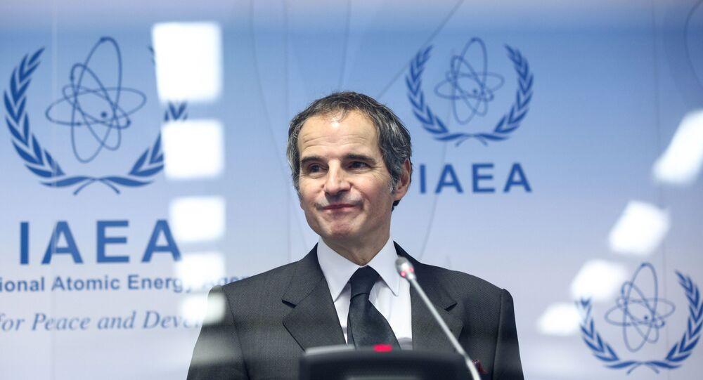 المدير العام للوكالة الدولية للطاقة الذرية رافايل غروسي