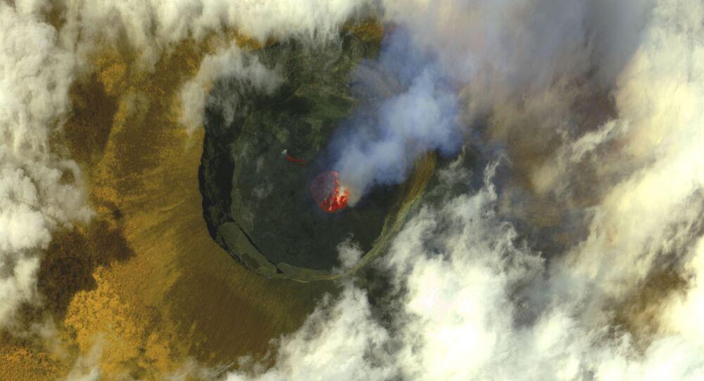 بركان نيراغونغو في الكونغو