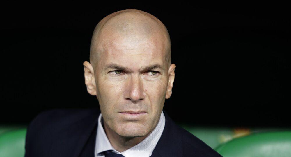 مدرب نادي ريال مدريد، زين الدين زيدان