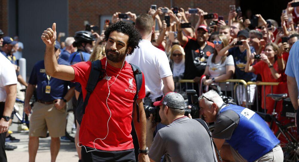 لاعب ليفربول الإنجليزي والمنتخب المصري محمد صلاح