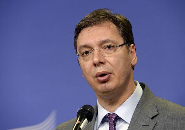 رئيس صربيا، ألكسندر فوتشيتش