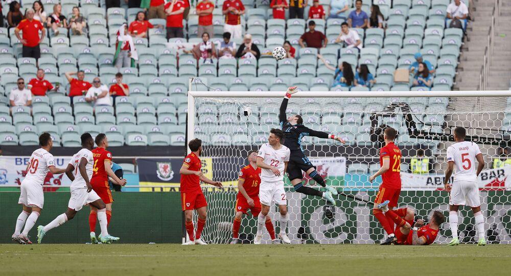 مباراة سويسرا مع ويلز في مباريات المجموعة الأولى من بطولة كأس الأمم الأوروبية يورو 2020