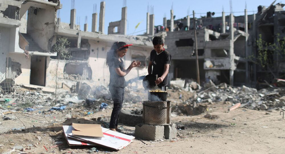 وقف إطلاق النار في قطاع غزة