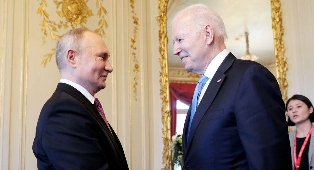 لقاء بوتين وبايدن في جنيف