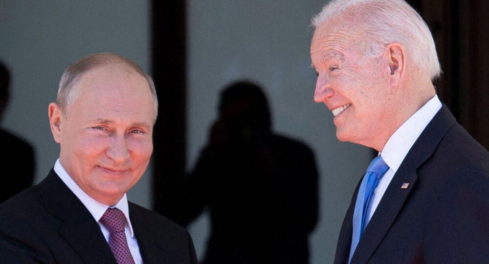 فلاديمير بوتين و جو بايدن