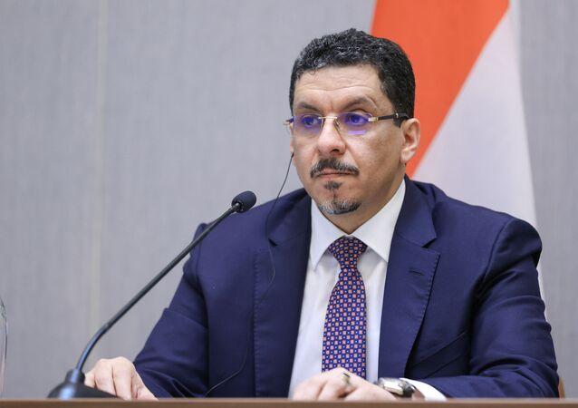 وزير الخارجية اليمني، أحمد عوض بن مبارك