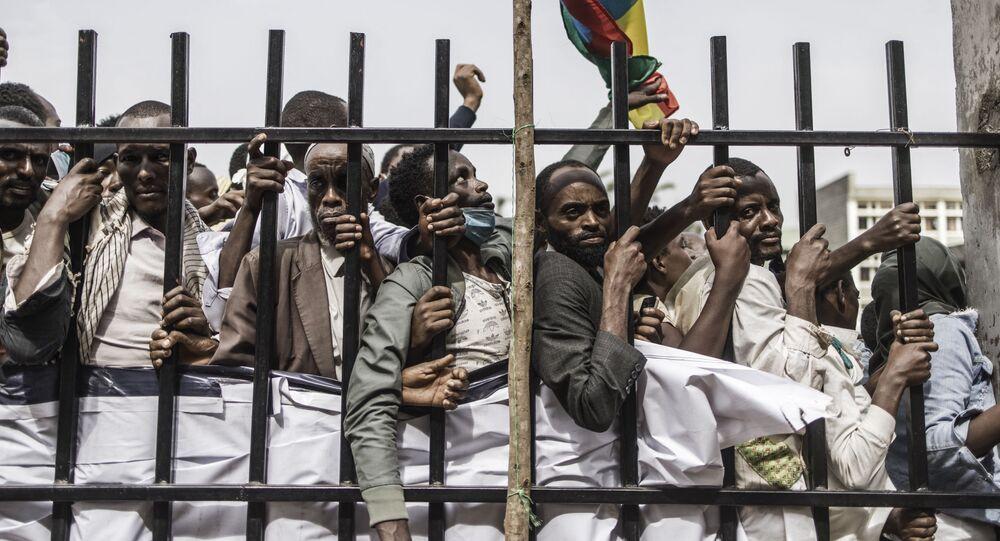 أنصار رئيس الوزراء الإثيوبي آبي أحمد