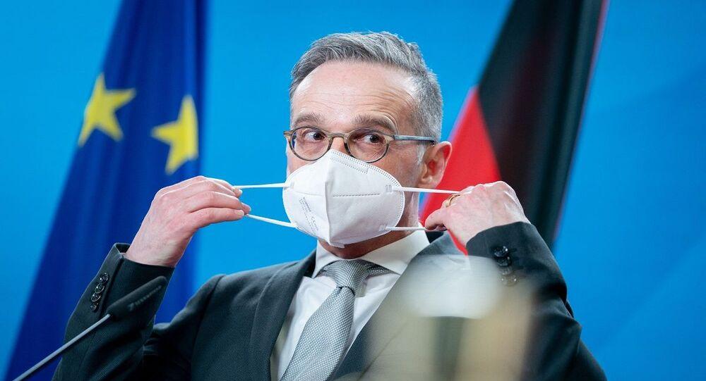 وزير الخارجية الألماني هايكو ماس في برلين