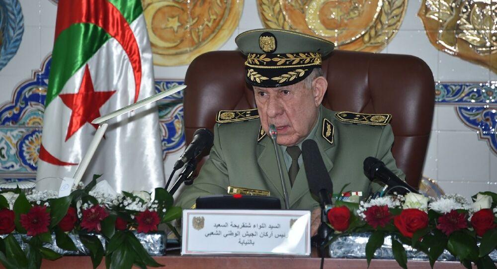 رئيس أركان الجيش الوطني الشعبي الجزائري، الفريق السعيد شنقريحة