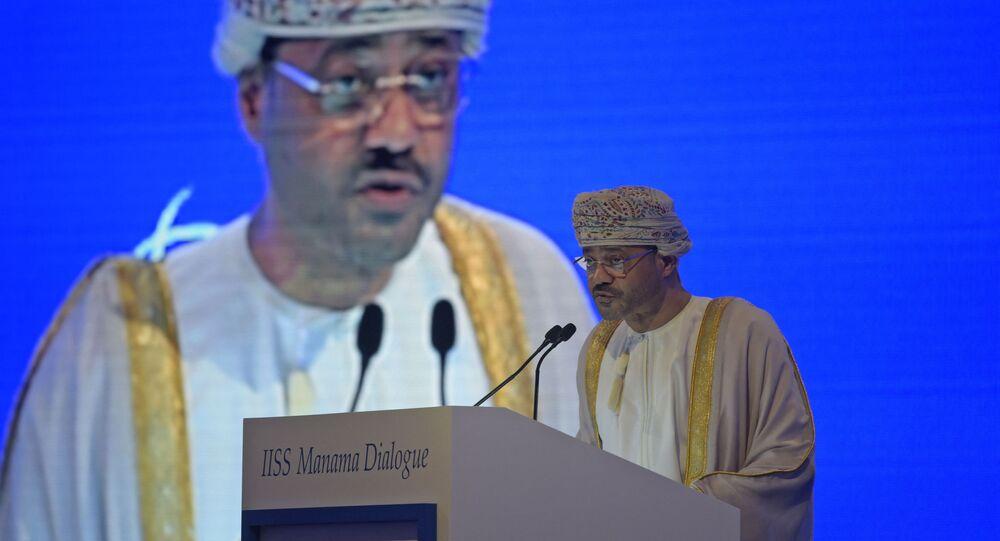 وزير خارجية سلطنة عمان، بدر بن حمد البوسعيدي