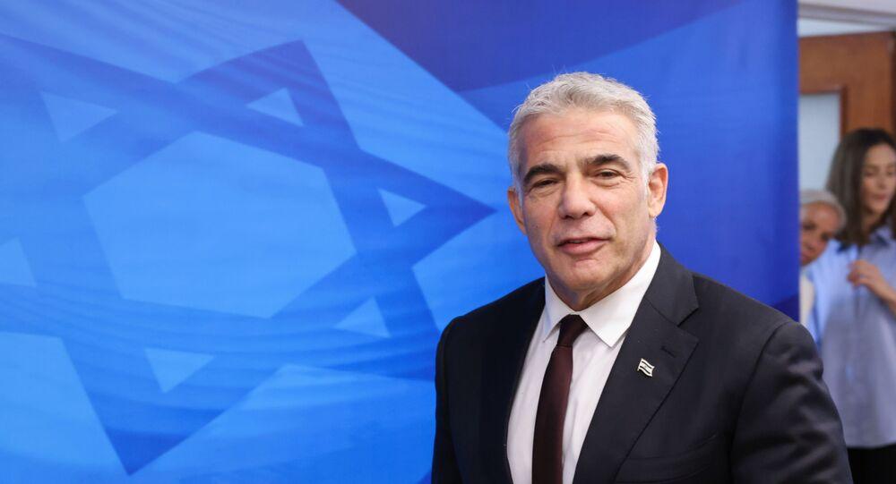 وزير الخارجية الإسرائيلي يائير لابيد
