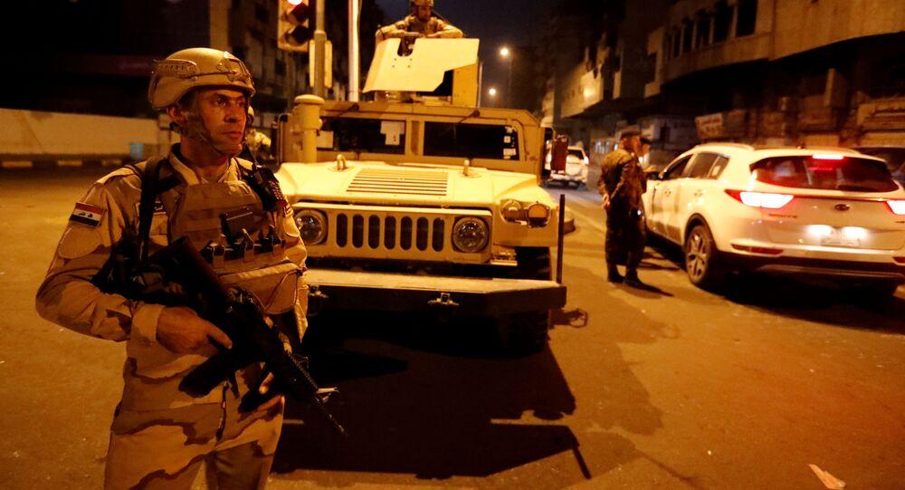 قوات الجيش العراقي في بغداد، العراق 26 مايو 2021