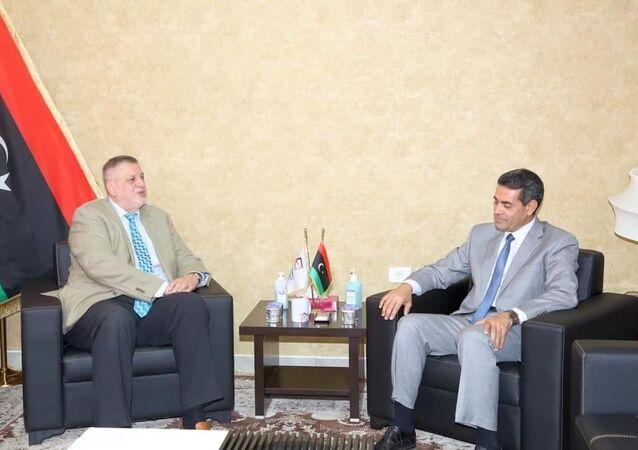 رئيس مفوضية الانتخابات الليبية يستقبل ممثل الأمين العام للأمم المتحدة