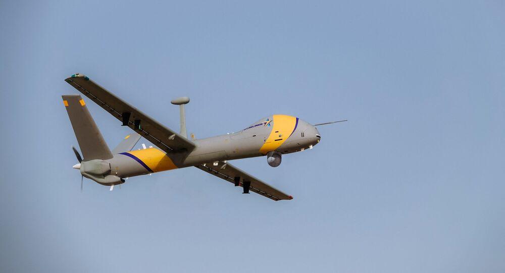 طائرة مسيرة إسرائيلية طراز هيرميس 900 ستار لاينر