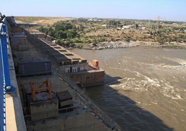 الملئ الثاني في سد النهضة في إثيوبيا