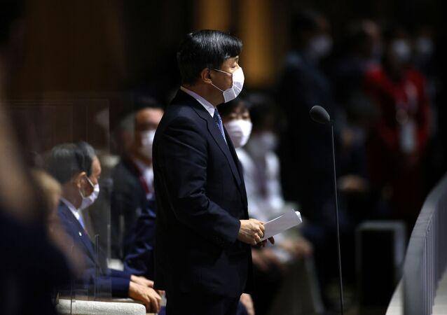 إمبراطور اليابان، ناروهيتو في الأولمبياد