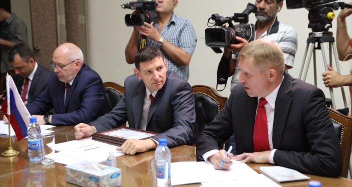 مركز التنسيق الروسي السوري يبحث توسيع تغطية سبوتنيك