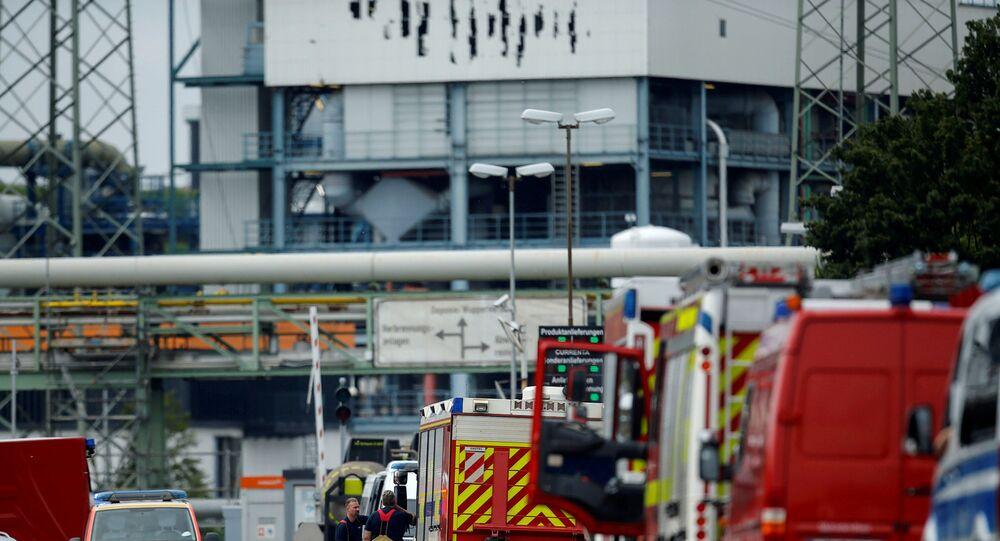 انفجار مجمع صناعي في ألمانيا