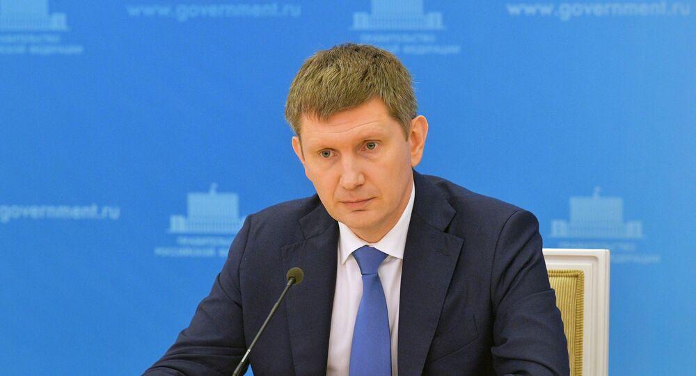 وزير التنمية الاقتصادية الروسي مكسيم ريشيتنيكوف