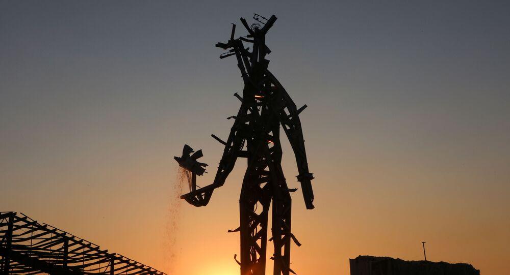 نصب تذكاري في مرفأ بيروت