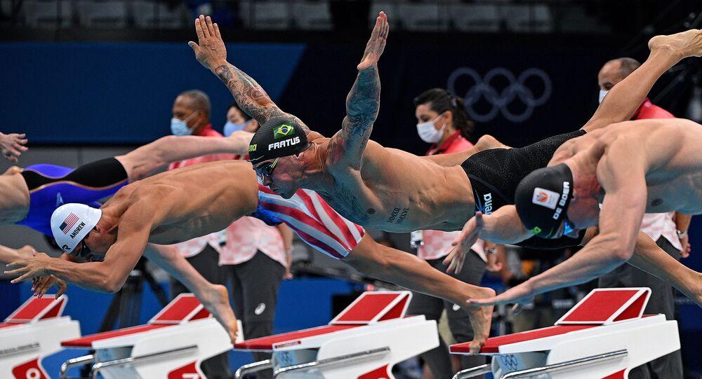 مسابقة السباحة الحرة 50 في أولمبياد طوكيو